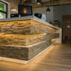 Revestimiento de madera maciza